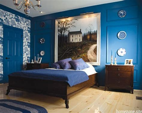 Bedrooms Paint For A Small Bedroom On A Cool Blue Bedroom Wall Paint Ideas With Wood Bed Furniture