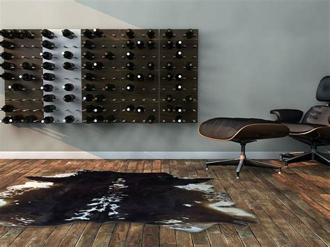 STACT modular wine wall rack.   Design Is This