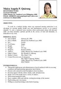 best resume format 2015 philippines holiday nurse resume exle philippines resumes design