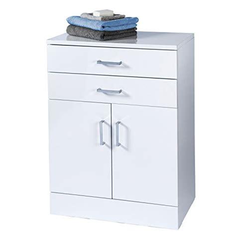 white freestanding bathroom cabinet trento freestanding white gloss bathroom cabinet by