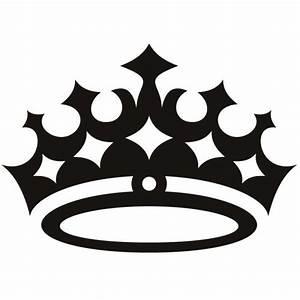 "6"" cute girly crown princess queen decal sticker choose"