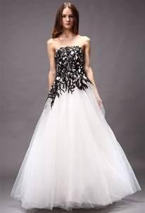 robe de mariã e noir et blanche robe de mariée blanche et noir princesse