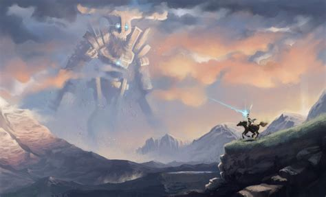 Shadow Of The Colossus Fan Art By Ignius Fa On Deviantart