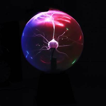 Plasma Ball Lamp Magic Electrostatic Mixture Desk