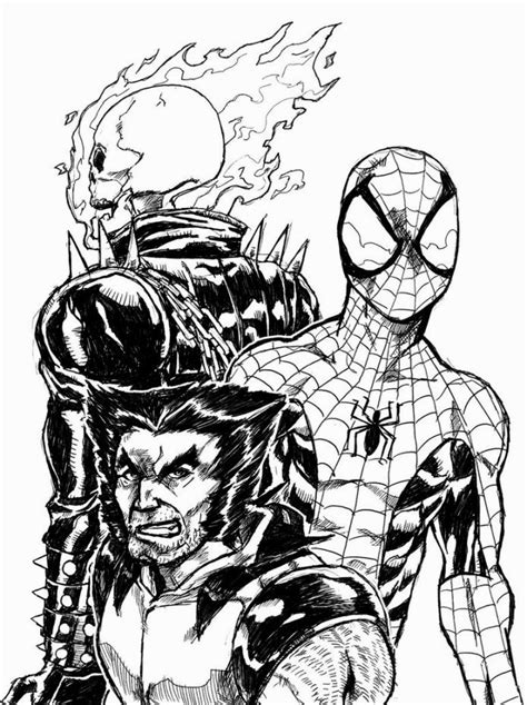 ghost rider coloring pictures coloring pages coloring