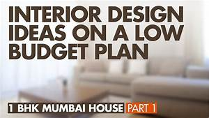 1 BHK Flat Low Cost Interior Design Budget Plan 1 BHK