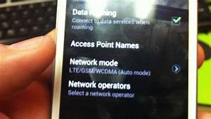 How To Do Internet Settings For H20 In Samsung Galaxy S3