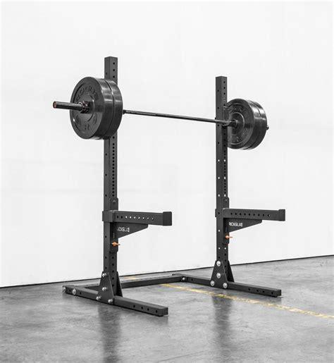 rogue squat rack sml 1 rogue 70 quot lite squat stand rogue fitness
