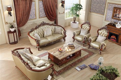 european leather sofa set luxury european leather sofa set living room sofa china