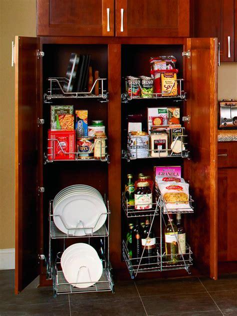 Pantry Storage Organizers by Organize Your Kitchen Pantry Hgtv