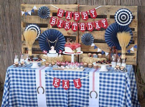 karas party ideas western cowboy birthday party karas
