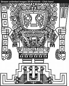 vector mayan and inca tribal symbols vector | YayImages.com