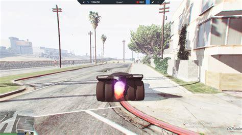 ramp car rocket car batmobile  mapeditor gta