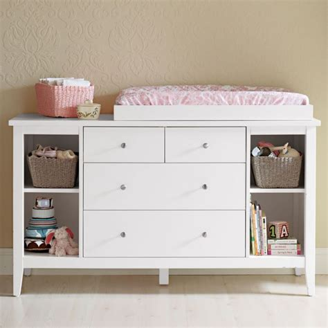 baby changer dresser top changing table dresser furniture ideas