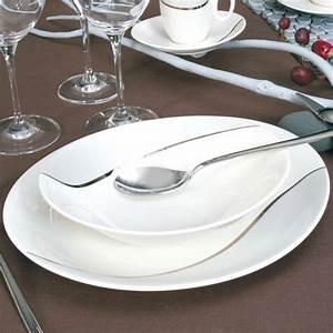 Assiette Creuse Design : assiette creuse en porcelaine vaisselle contemporaine et design ~ Teatrodelosmanantiales.com Idées de Décoration