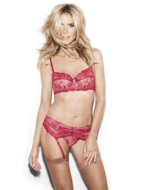 Heidi Klum Poses In New Heidi Klum Intimates Campaign