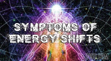 symptoms  energy shifts ind ind