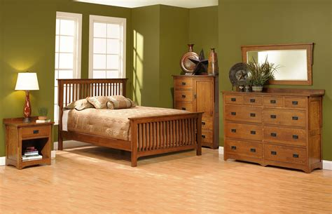Mission Slat Bedroom Furniture Rochester Ny