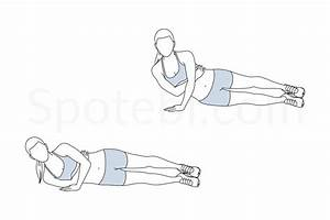 One Arm Tricep Push Up