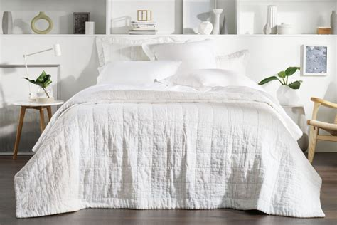 abbotson linen bed cover - Bed Covers