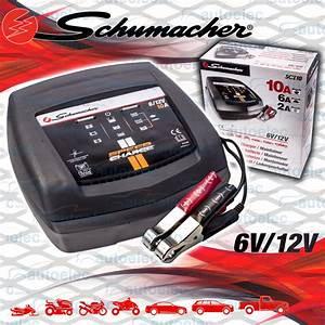 Schumacher 6v  U0026 12v 2  6  10 Amp Battery Charger Car