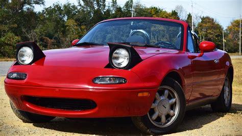 1992 Mazda NA Miata Review: Best Car Below $5000 - YouTube