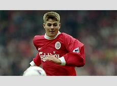 Steven Gerrard Liverpool 1999 Goalcom