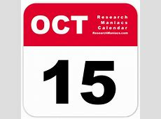 Information about October 15