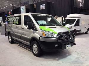 Ford Transit 4x4 : quigley 4x4 at the cleveland auto show ford transit sporting aluminess front and rear bumpers ~ Maxctalentgroup.com Avis de Voitures