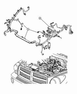 Dodge Durango Wiring  Used For  Headlamp And Dash   Remote Start System  Up To 03  28  07