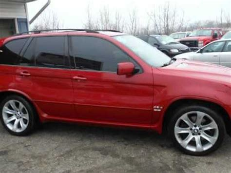 bmw  awd   package loaded red rare