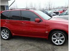 2005 BMW X5 AWD 48is M PACKAGE LOADED RED RARE FREE