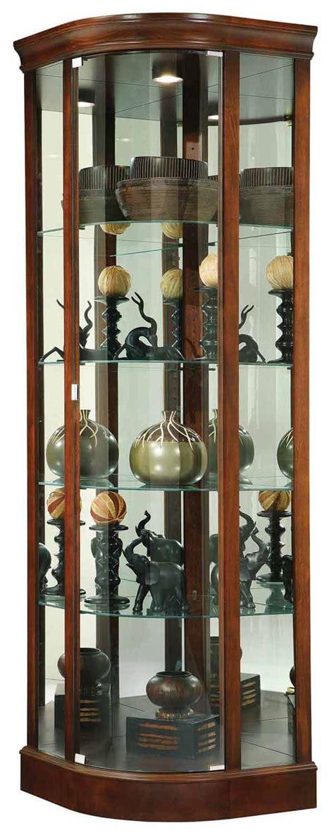 locking curio cabinet howard miller 680 529 marlowe corner curio cabinet the 3835