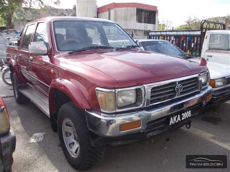 toyota hilux  dc  spec   sale  islamabad