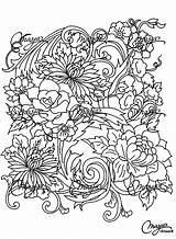 Coloring Pages Adults Adult Drawing Flower Flowers Printable Vegetation Drawings Colouring Et Fleurs Books Nature Colour Plant Patterns Nggallery Popular sketch template