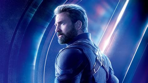 7680x4320 Captain America In Avengers Infinity War 8k Poster 8k Hd 4k Wallpapers, Images