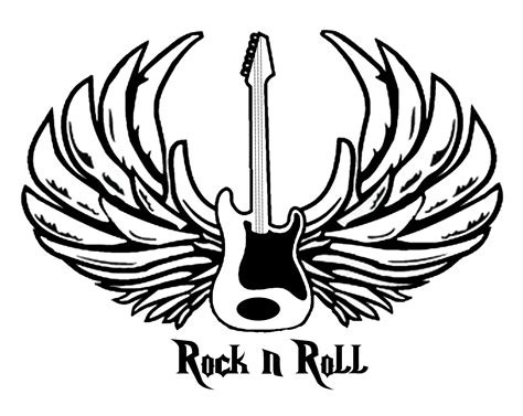 rockn roll cc coloring pages pinterest rock  roll