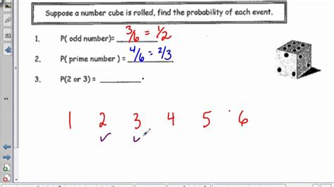 theoretical probability 7th grade math theoretical
