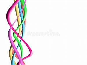 Abstract Colour Spectrum Stock Illustration  Illustration