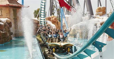 portaventura park ticket barcelona klook