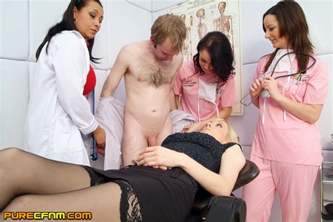 Assisted By Hot Nurses And A Doctor A Blow Xxx Dessert Picture
