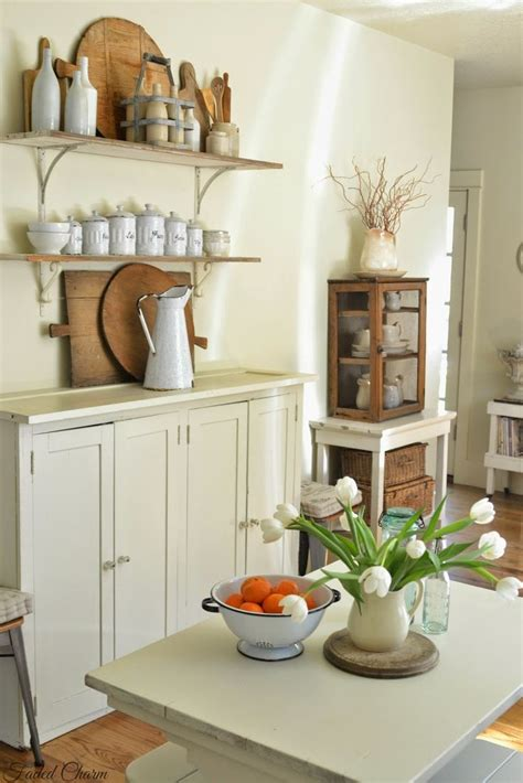 faded charm diy farmhouse style decorating ideas shabby chic pinterest wood cabinets