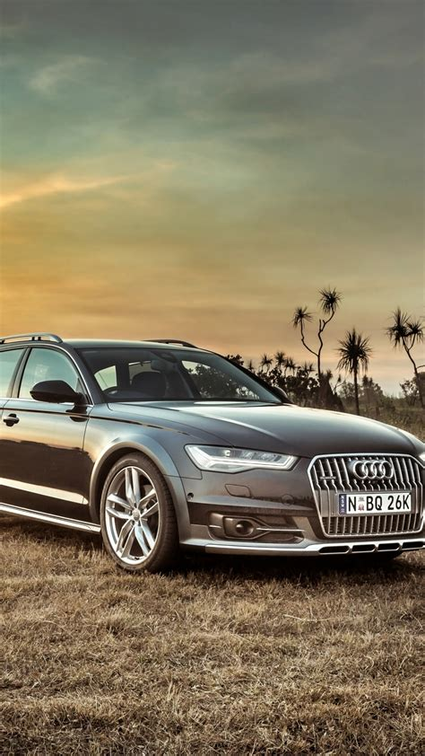 Audi A6 Backgrounds by Hd Background Audi A6 Allroad Side View Sunset Hdr Car