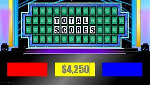 customizable wheel of fortune bellacoolaco With wheel of fortune board template