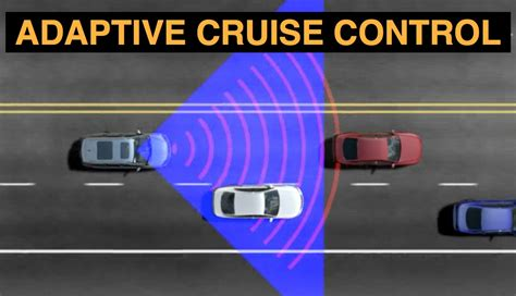 How Adaptive Cruise Control Works  Step One For