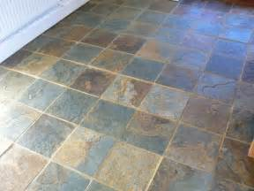 slate floor cleaning and sealing service in the cheshire area