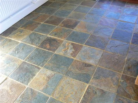 slate floor slate floor cleaning and sealing service in the cheshire area
