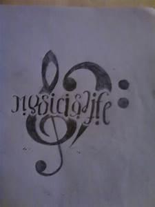Music Is Life Tattoo Ideas   www.imgkid.com - The Image ...