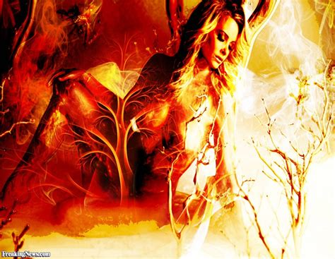 Women On Fire Painting Images