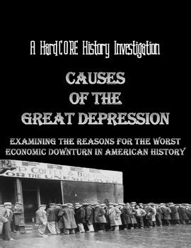 Did monetary forces cause the great depression? Causes of the Great Depression: Common Core Research History Lesson
